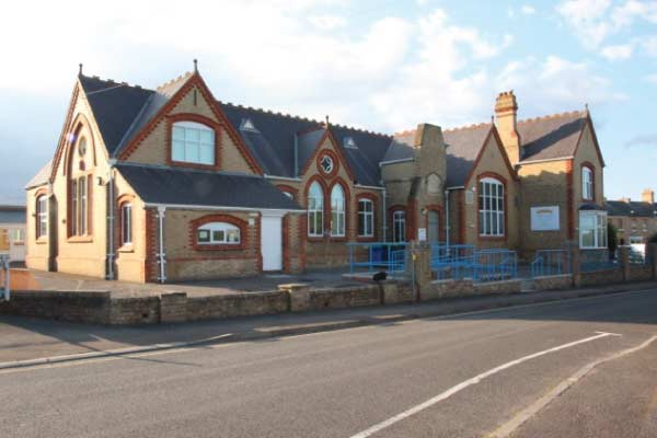 old victorian school building